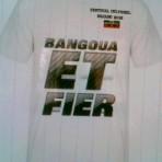 T-Shirt Bangoua et Fier Blanc